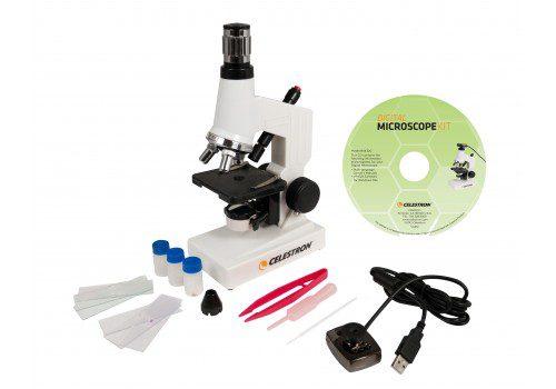 Microscopio Biologico con Webcam