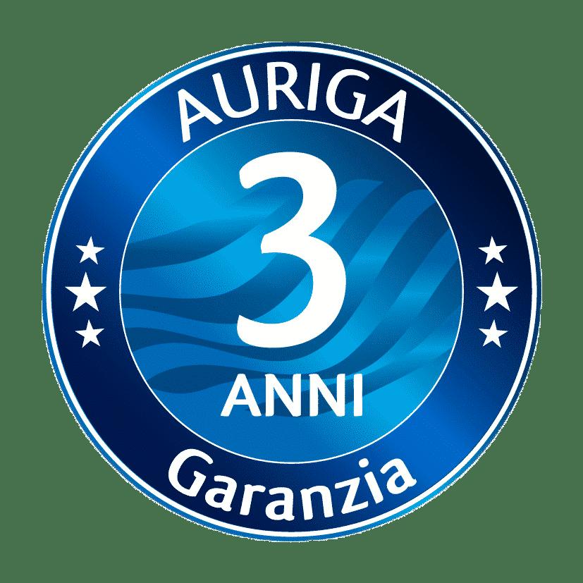 Garanzia Auriga 36 Mesi